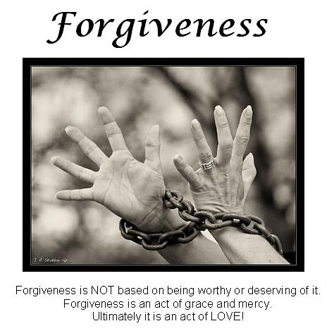 forgivness